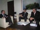 Manuel Campos se reúne con el alcalde de Torre Pacheco