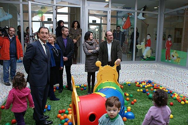 Inaugurado el nuevo Centro de Atención Infantil que ofrece 82 nuevas plazas en la pedanía lumbrerense La Estación- Esparragal - 1, Foto 1
