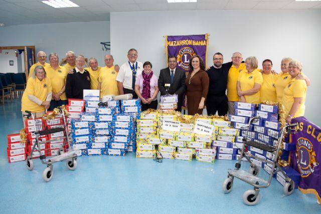 El Club de Leones Bahía de Mazarrón dona material al ayuntamiento, Foto 1