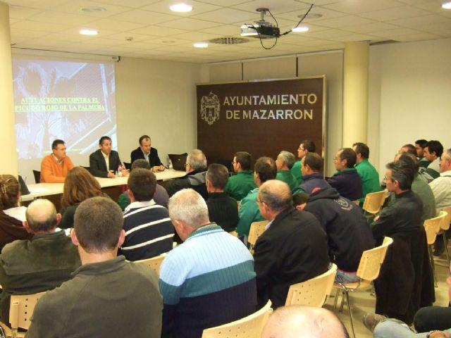 Éxito participativo en la ´I jornada técnica sobre el picudo rojo´, Foto 1