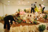 Los vecinos de Fuente Álamo ultiman detalles para la inauguración de su Belén Municipal