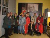 Un Grupo de alhameños de IU viaj� hasta Madrid para asistir al acto de presentaci�n de su alternativa social y de izquierdas