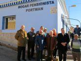 Inauguran el carril bici, las nuevas pistas polideportivas y el hogar de la tercera edad de Portmán