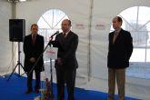 El alcalde de Alhama asiste a la ampliaci�n Befesa, empresa del Parque Industrial de Alhama