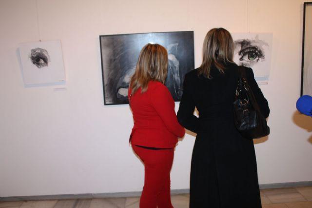 Inaugurada la exposición de pintura Mírame de Nuria Navarro Sánchez en Torre-Pacheco - 1, Foto 1