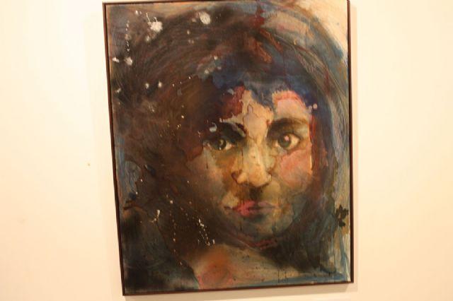 Inaugurada la exposición de pintura Mírame de Nuria Navarro Sánchez en Torre-Pacheco - 2, Foto 2
