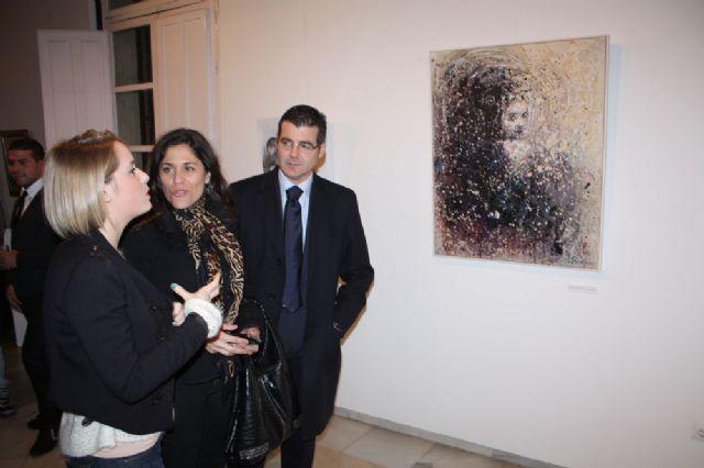 Inaugurada la exposición de pintura Mírame de Nuria Navarro Sánchez en Torre-Pacheco - 3, Foto 3