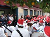 El Floricoro del IES Floridablanca felicita la Navidad a los funcionados de la Concejalía de Educación