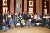 El Alcalde Cámara entrega los premios del Ayuntamiento a las mejores ideas emprendedoras