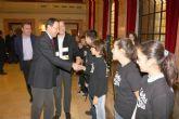El Alcalde felicita a las Estrellas Negras de Algezares tras proclamarse campeones de España
