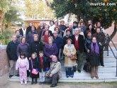 Un grupo de usuarios del Centro Municipal de Personas Mayores realizaron una visita a varios Belenes de Murcia