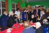 Autoridades municipales felicitan la pascua navideña a los usuarios del Servicio de Estancias Diurnas del Centro de Alzheimer