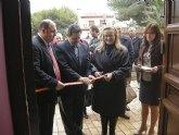 La directora general de Turismo inaugura el nuevo Museo Arqueológico de San Pedro