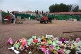 Los socialistas exigen al concejal de Servicios que dé explicaciones sobre el destino de las flores de la ofrenda a La Santa