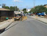 Comienzan las obras de reforma integral en la Avenida Cristo de los Mineros