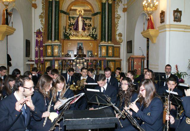 La Banda Municipal de Música de Puerto Lumbreras y el grupo de Coros y Danzas Virgen del Rosario celebraron el tradicional 'Concierto de Navidad' - 3, Foto 3