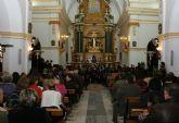 La Banda Municipal de Música de Puerto Lumbreras y el grupo de Coros y Danzas Virgen del Rosario celebraron el tradicional 'Concierto de Navidad'