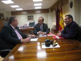 El alcalde de La Unión presenta a Salvador Marín las conclusiones de la mesa local de empleo