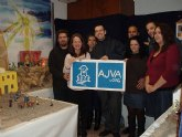 AJVA vuelve a instalar su Belén en Aljucer, en su centro juvenil, ambientado en edificios históricos murcianos