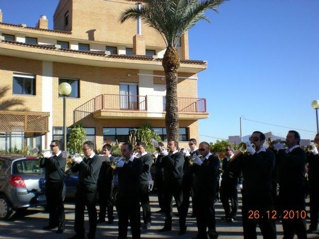 """La Banda de Cabildo trumpets and drums played in the residence """"La Purisima"""", Foto 1"""