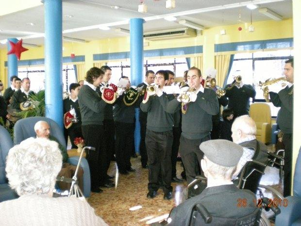 """La Banda de Cabildo trumpets and drums played in the residence """"La Purisima"""", Foto 2"""
