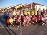 Gran actividad de carreras del Club Atletismo Totana en Navidad