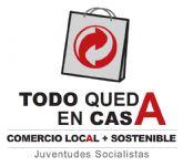 Juventudes Socialistas de Totana inicia con éxito la campaña 'Todo queda en casa'