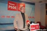Otálora asegura que 'el alcalde no puede seguir perdiendo el tiempo para arreglar los problemas de Totana'