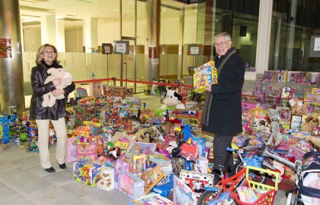 La recogida de juguetes llega a su fin con más de 2.000 unidades - 1, Foto 1
