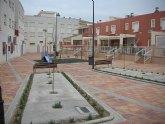 Los vecinos de Santomera ya pueden disfrutar de los nuevos jardines de la Yesera y de Todi