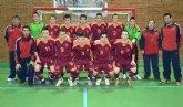 Éxito del juvenil Jonathan Lombardo, del Club Fútbol-Sala Capuchinos, con la Selección Murciana