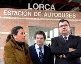 La Comunidad finaliza las obras de ampliación de la Estación de Autobuses de Lorca