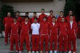 El 2010 finaliza con 13 caravaqueños concentrados con la Selección Murciana