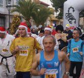 Puerto Lumbreras despidió el año con su primera marcha popular ´San Silvestre´