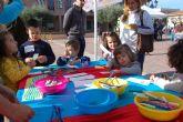 La plaza del Ayuntamiento acoge multitud de juegos tradicionales