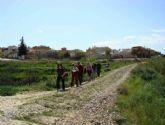 Unos 1.500 peregrinos visitan Alguazas durante el Año Jubilar 2010