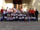 Diplomas para los niños que han participado en la Escuela Polideportiva de Navidad