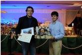 Un joven cartagenero gana el concurso de fotografía organizado por la exposición del Belén Monumental del Cuco en La Ribera