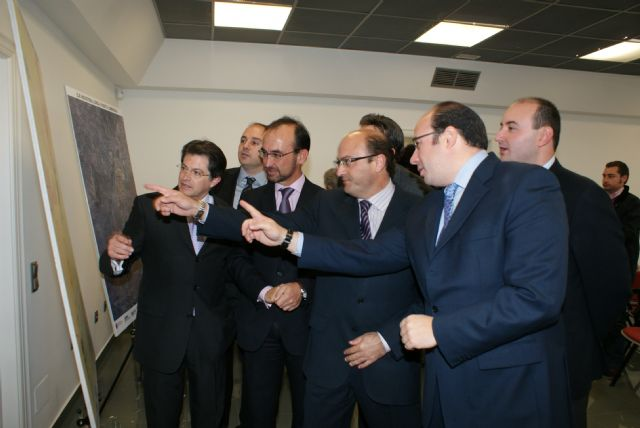 Los alcaldes de Lorca y Puerto Lumbreras apuestan por el corredor FERRMED - 1, Foto 1