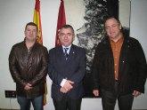 El consejero de Justicia y Seguridad Ciudadana mantuvo un encuentro hoy con el Jefe de la Polic�a Local de Totana
