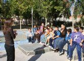 Más de 300 escolares de Puerto Lumbreras participan en el proyecto europeo ´+ Respect´ contra la discriminación étnica