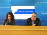 El presupuesto del Ayuntamiento de Molina de Segura para el año 2011 es de 62.685.986 euros