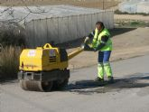 La concejal�a de Servicios mejora las calles de Cañada de Gallego