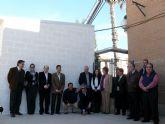 El colegio 'Fulgencio Ruiz'  estrena caldera de biomasa para su calefacción