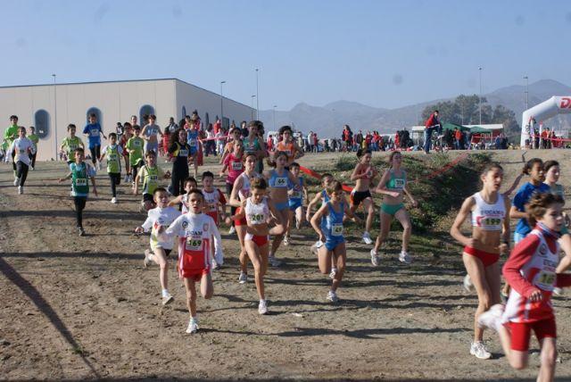 Más 800 atletas de la Región de Murcia se han dado cita en la XXV Liga de Cross disputada en Puerto Lumbreras - 2, Foto 2