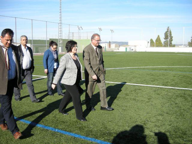 Pliego cuenta con nuevas instalaciones deportivas y una nueva red de abastecimiento - 1, Foto 1
