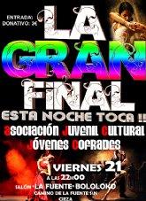 """Gran Gala Final """"¡¡Esta noche toca!!"""" en Cieza"""