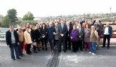 Concluyen las obras del nuevo puente sobre el río Chícamo, que contribuirá a aumentar la seguridad vial en Abanilla
