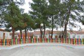 La concejalía de Obras y Servicios realiza reformas integrales en la plaza de La Molineta de Alguazas