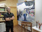 El pintor torreño Fernando Jiménez expone en su tierra